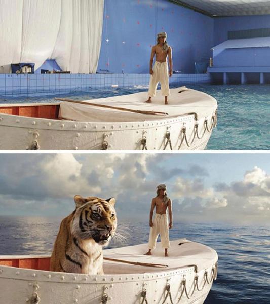 Жизнь Пи: кадры из фильма.