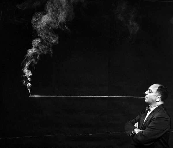 Длинный мундштук для курения