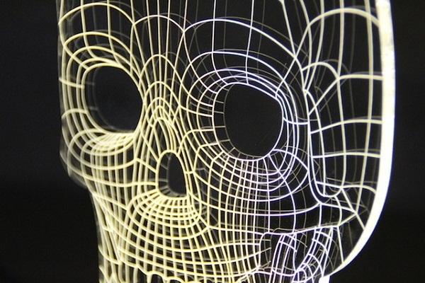 Коллекция светильников Bulbing с 3D-эффектом.