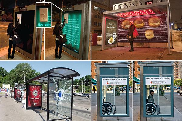 обзор необычных автобусных остановок