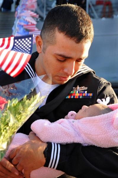 Когда война мешает быть отцом.
