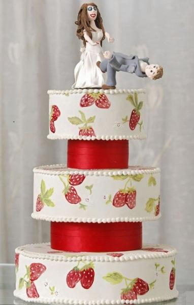 Торт в честь расторжения брака.