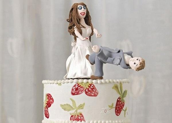 Торт ко дню развода.