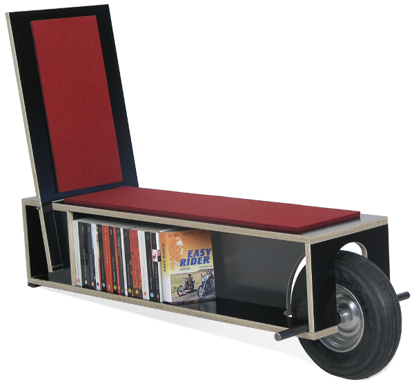 Easy Reader: кресло + полка на колесах