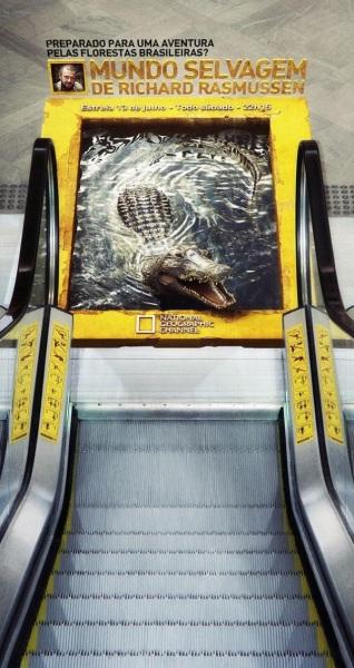 Реклама National Geographic.