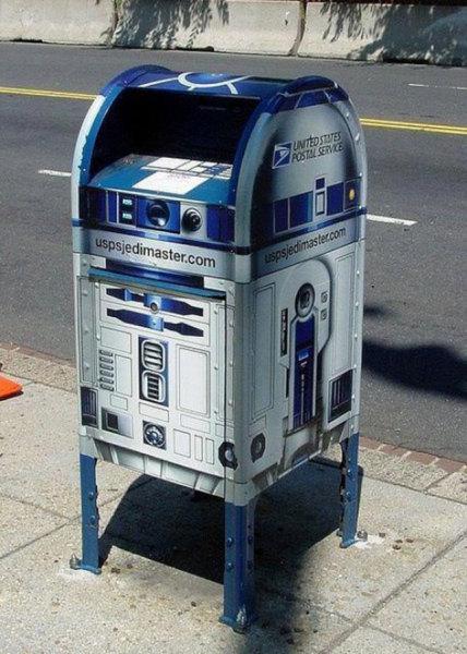 R2D2 в роли почтового ящика