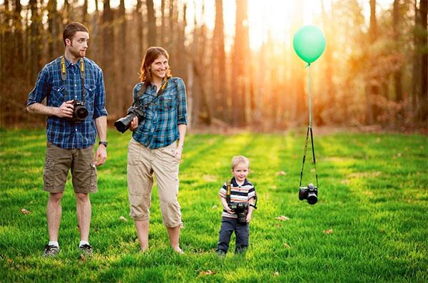 прибавление в семействе фотографов
