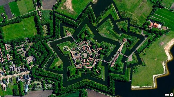 Bourtange, Vlagtwedde, Netherlands.