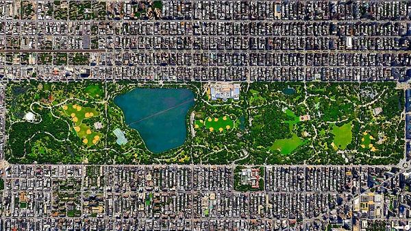 Центральный парк, Нью-Йорк.