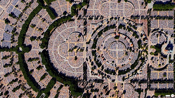 Кладбище, Madrid, Spain.