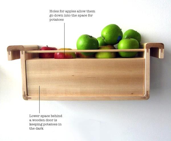 хранение яблок и картофеля