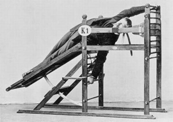 Первые тренажеры: исторические фото 19 века