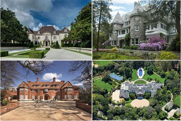10 самых дорогих домов, выставленных на продажу в 2014