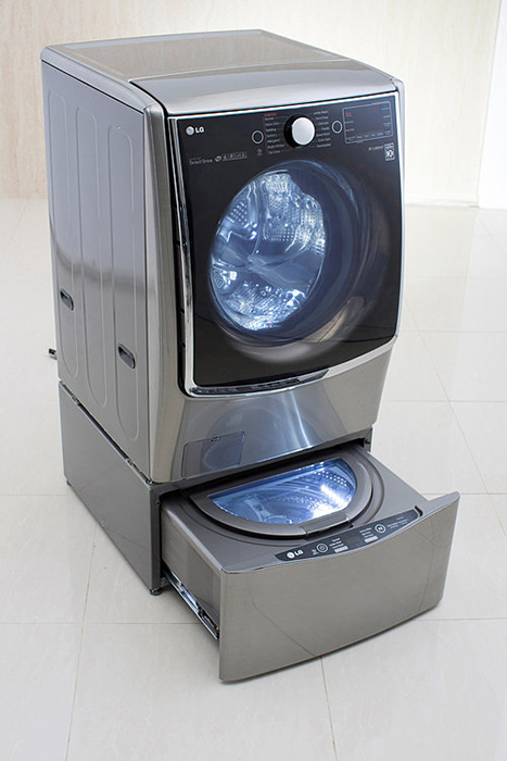Стиральная машинка TWIN WashSystem от компании LG