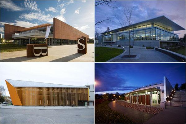 12 удивительных современных библиотек