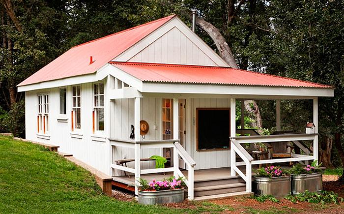 Маленький домик от компании Richardson Architects.