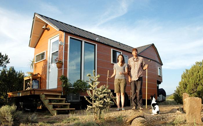 Маленький домик Кэрри и Шейна.