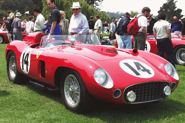 Ferrari 860 Monza, 1956