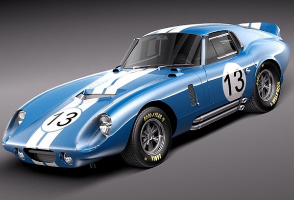 Shelby Cobra Daytona Coupe, 1964