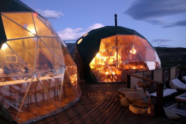 Экологический лагерь Торрес дель Пайн, Национальный парк, Патагония, Чили