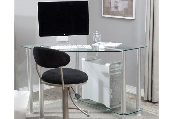 Стеклянный рабочий стол