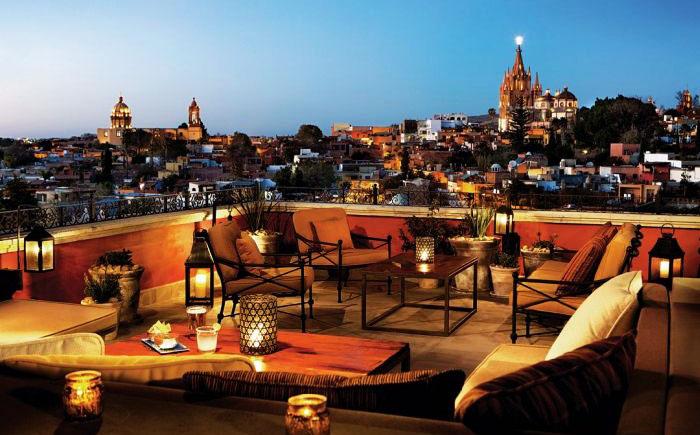 Тапас-бар Luna, отель Роузвуд, Мексика