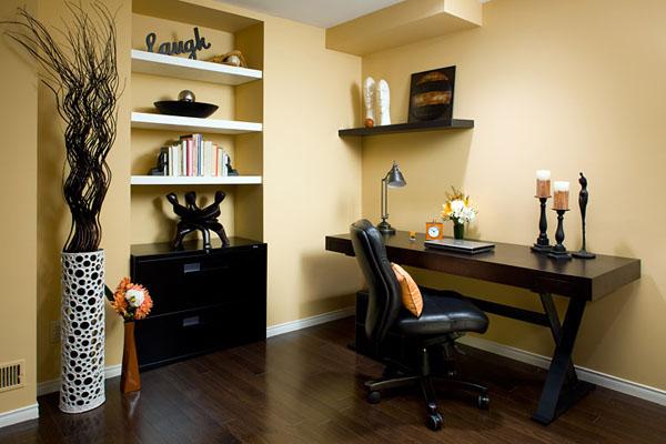Практичные идеи для малогабаритных домашних офисов
