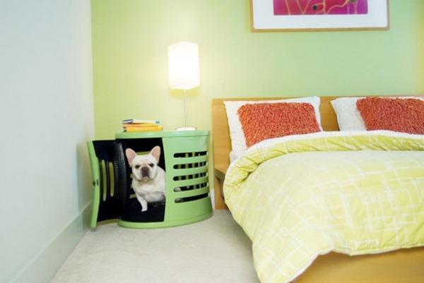 Тумбочка-кровать для питомцев
