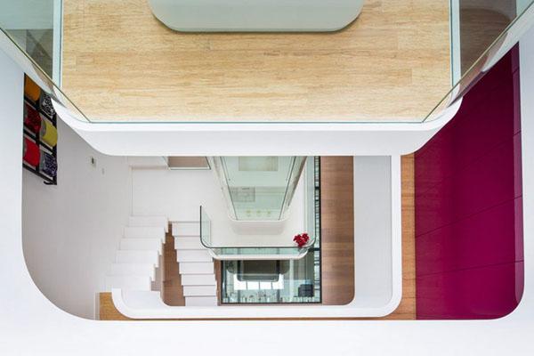 Вид с четвёртого этажа