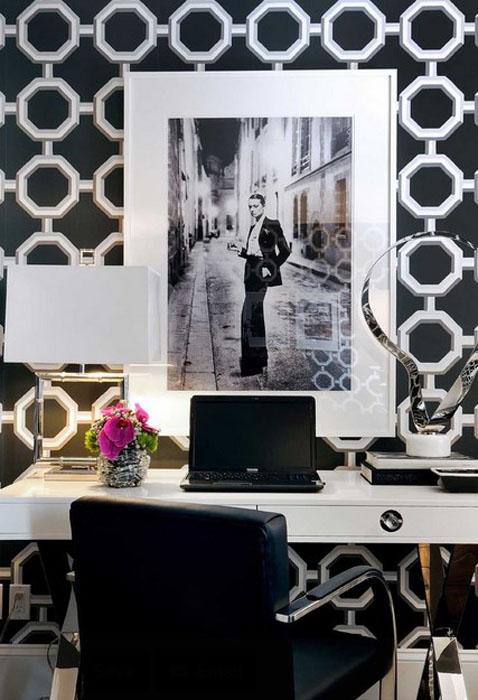 Интерьер домашнего офиса от Atmosphere Interior Design Inc.