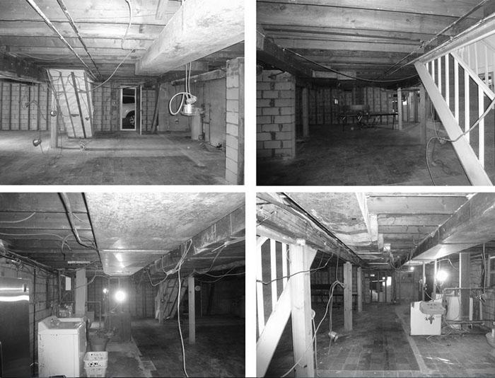 Подвал до реконструкции