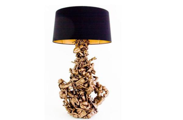 Скульптурная лампа от Ryan McElhinney