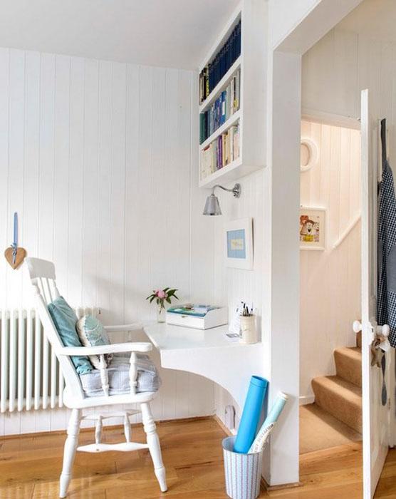 Интерьер домашнего офиса от Whitstable Island Interiors