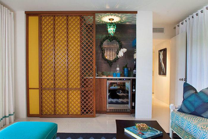 Домашний бар в марокканском стиле
