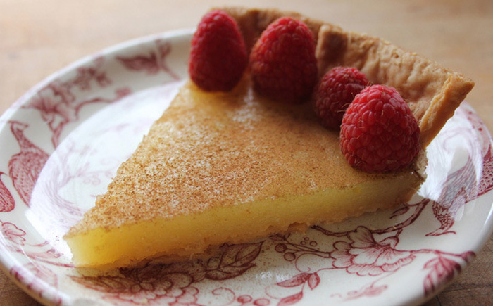 Уксусный пирог