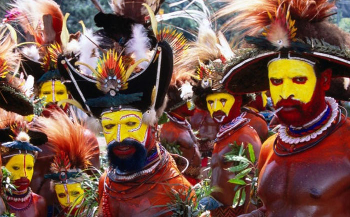 Кровавый ритуал племени матаса