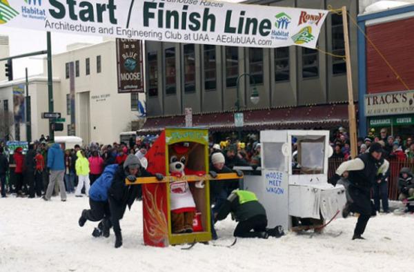 Зимний фестиваль Rondy (Аляска, США)