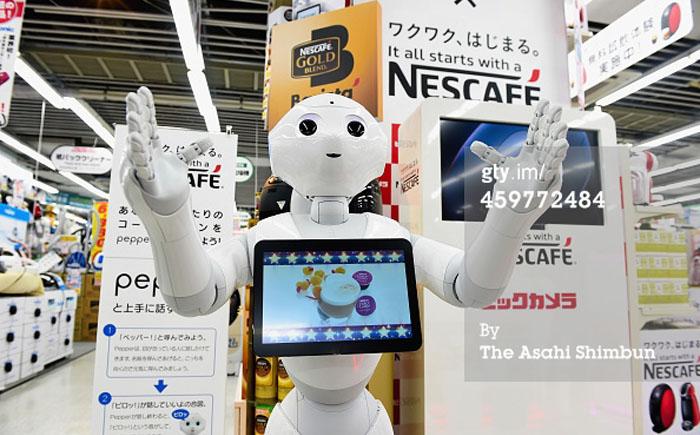 Роботы-продавцы