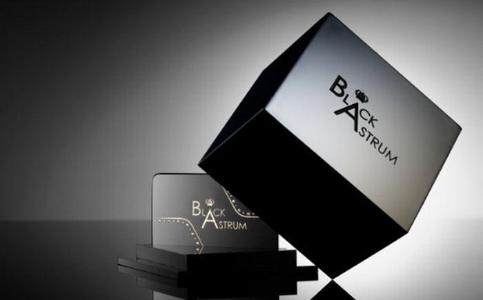 Визитка от компании Black Astrum