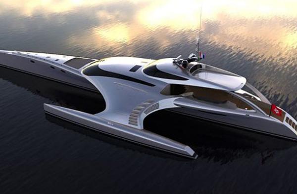 Яхта -космический корабль