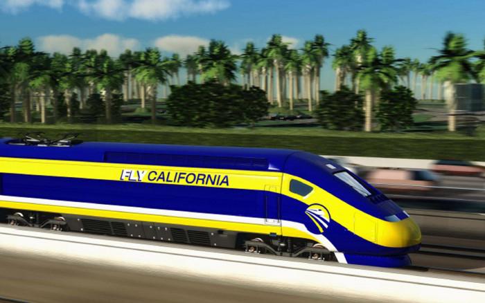 Высокоскоростная железная дорога в Калифорнии – 33   миллиарда долларов