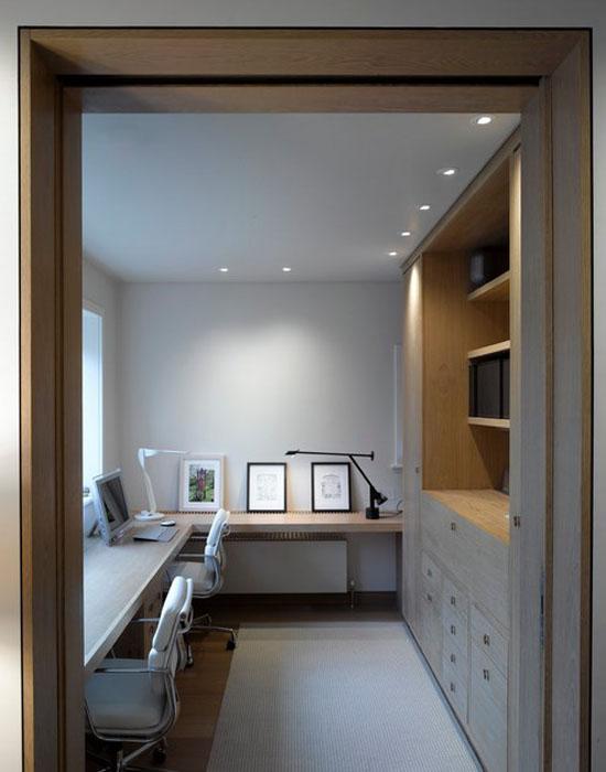 Интерьер домашнего офиса от Hill Mitchell Berry Architects