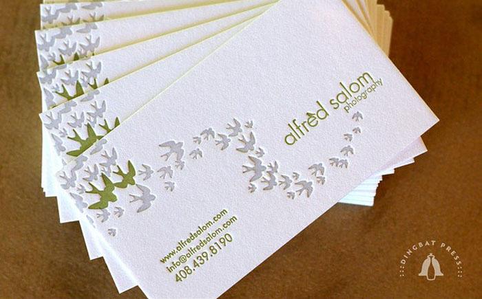 Визитки от Dingbat Press