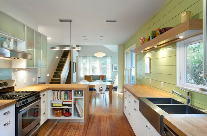 Интерьер кухни от Rick & Cindy Black Architects