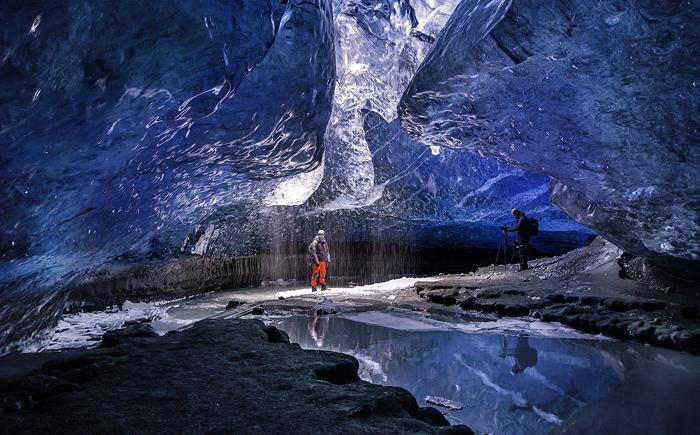 Ледяная пещера Ватнайокутль, Исландия