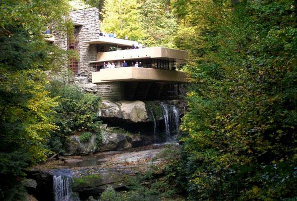 Дом-водопад, Пенсильвания