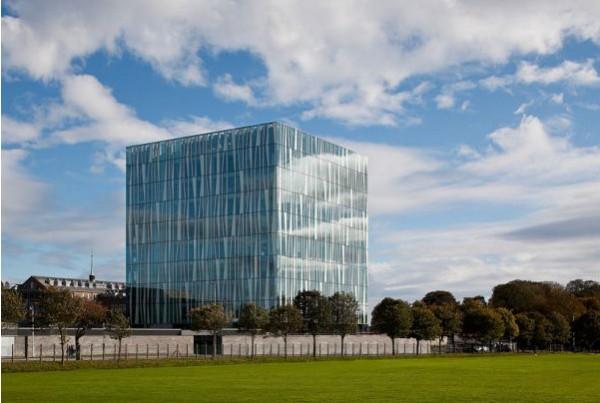 Новая библиотека университета Абердин