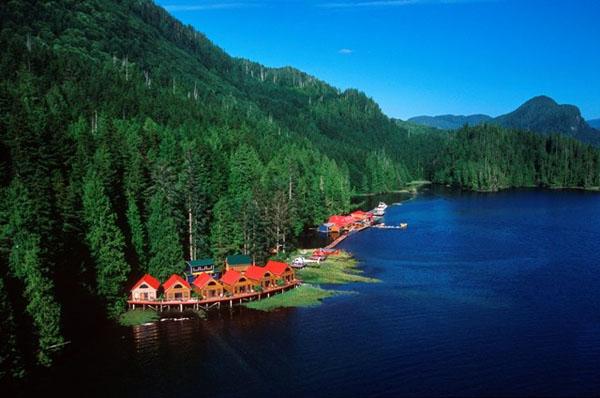 Курорт Nimmo Bay, Британская Колумбия, Канада