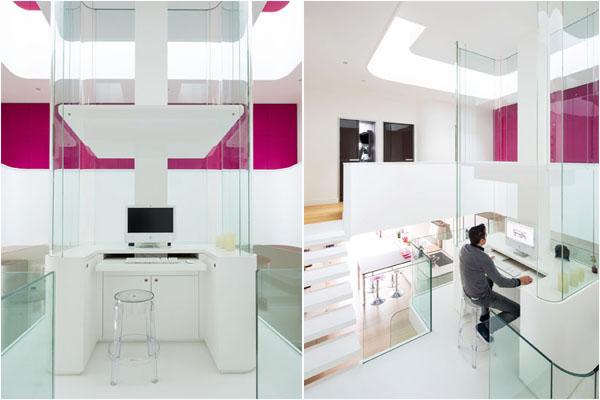 Домашний офис за стеклом