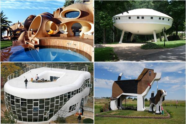 Чудеса архитектуры: 10 самых необычных домов